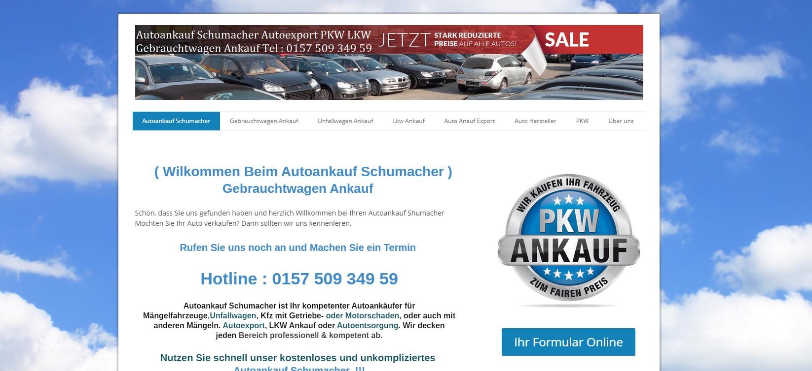 autoankauf-schumacher.de - Autoankauf Gießen